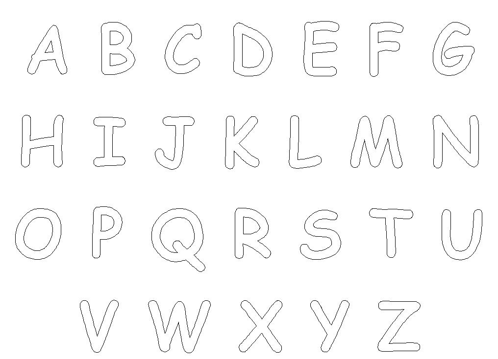 color the alphabet letter a coloring pages for toddlers