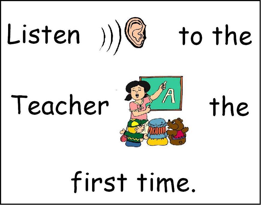 photograph relating to Kindergarten Classroom Rules Printable identified as Preschool Printables