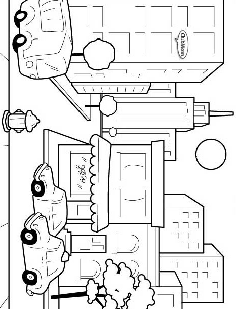 emerald city coloring pages - photo#11