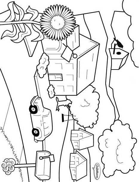deery lou coloring pages - photo#2